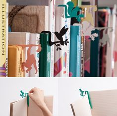 Animals bookmark