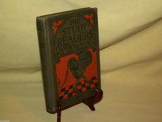 STUDY READERS FOURTH YEAR 4TH GRADE WALKER PARKMAN COPY 1924 CHARLES MERRIL