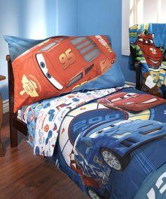 Look what I found on #zulily! Disney Cars Max Rev 10-Piece Toddler Bedding Set #zulilyfinds