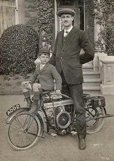 Miniature Douglas Motorcycle - The Woolands, Kingswood