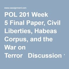 war in terror essay
