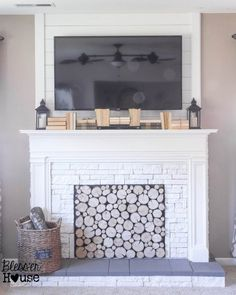 No Mantel? No Problem! 25 Ideas for Fireplace Mantel Alternatives
