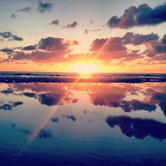 Reflets et coucher de soleil - ©lesphotosduseb