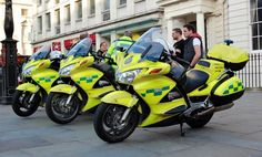 London Ambulance Service Motorcycle crews