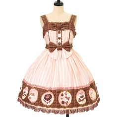 Angelic pretty アンジェリックプリティ ($115) ❤ liked on Polyvore featuring dresses