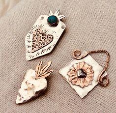 Gypsy Jewelry, Enamel, Pendants, Diy, Accessories, Vitreous Enamel, Bricolage, Hang Tags, Enamels