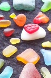 Come June I'll need this, because I love combing the beach for sea glass!  Sea Glass Rarity Chart