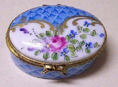 Traditional Limoges Box.