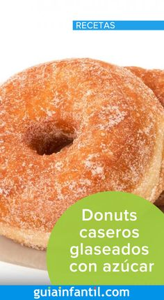 Learn how to make homemade donuts with a rich sugar glaze. A delicious treat for the whole family! Homemade Donut Glaze, Easy Donut Recipe, Baked Donut Recipes, Homemade Donuts, Baking Recipes, Confort Food, Donut Party, How To Make Homemade, Yummy Treats