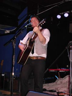 Pic from @Emily Kirkpatrick Lee DeWyze at the Altar Bar in Pittsburgh, PA 11/11/13