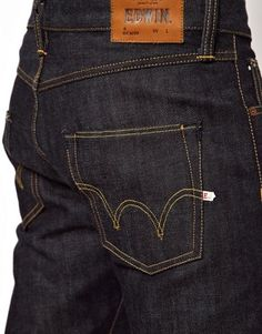 Edwin Jeans Relaxed Tapered Fit Selvedge ED-55