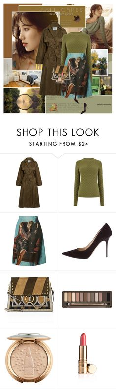 """Hello Autumn"" by rainie-minnie ❤ liked on Polyvore featuring Prada, Jimmy Choo, Chloé and Urban Decay"