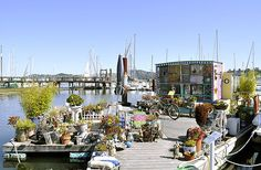 Floating Garden & houseboat, Sausalito | by Uncle Lynx