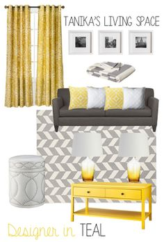 Tanikas Living Room Mood Board - @Chandra Sale this made me think of you!!
