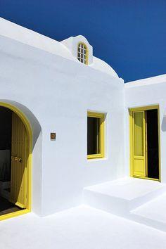 That's it!  Doorways/window frames must be yellow.