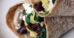 Fast-Food Breakfast Hack: The Starbucks Spinach-Feta Wrap