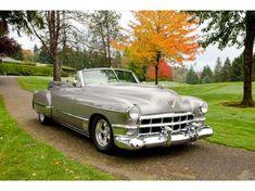AutoTrader Classics - 1949 Cadillac De Ville Convertible Silver 8 Cylinder Automatic 2 wheel drive | American Classics | Hilton Head Island, SC