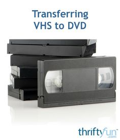 This is a guide about transferring VHS to DVD. The age of the VHS tape is over and although the DVD may follow the same path, you probably still want to convert those old tapes to the newer format. Vhs Cassette, Vhs Tapes, Marketing Strategies, Marketing Plan, Inbound Marketing, Business Marketing, Content Marketing, Internet Marketing, Mobile Marketing