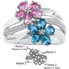 I'm in love with this mother's ring