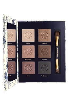 I've been obsessed with the Tory Burch Pas du Tout lipstick, now there's a matching eyeshadow palette!