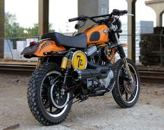 This Harley Davidson Sportster 1200 scrambler is just one example of the kind of listings you'll see at Uncommon Motors