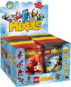 6064672-1: LEGO Mixels - Series 1 - Display Box