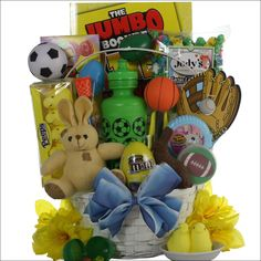 Easter basket great for boys ages 6 9 gift baskets for all easter basket great for boys ages 6 9 gift baskets for all occassions pinterest easter baskets and easter negle Images