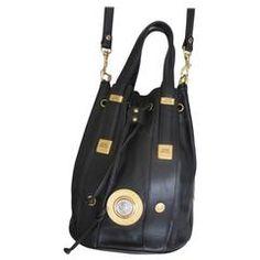 Gianni Versace black leather bag with gold medusa Vintage Bags, Vintage  Handbags, Vintage Purses af01f61aae
