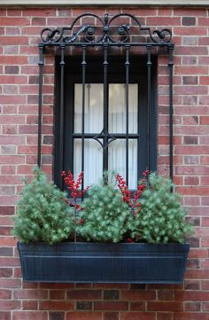 Habitually Chic®: Christmas on the Upper East Side Night Window, Window View, Rear Window, Upper East Side, Garden Windows, Apartment Balconies, Slice Of Life, Window Boxes, Great Shots