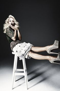 Singer Rita Ora stars in the latest issue of The Sunday Times Style, photographed by Damon Baker.