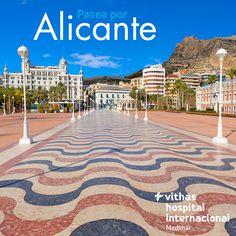 La ciudad de #Alicante dispone de multitud de sitios para pasear. Andar es una de las mejores formas de mantenerte en forma y con un corazón sano. Es un consejo de nuestra Unidad de Medicina Preventiva: