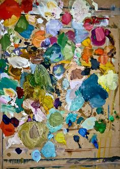 painter's palette : to frame or throw away ?