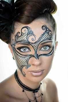Beautiful Mardi Gras Mask
