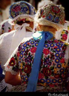Folk costumes of Kalocsa, Hungary