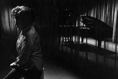 Bob Willoughby (1927-2009) Judy Garland on the partially lit set of the London Palladium during filming of I Could Go on Singing 1962