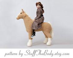 Abby The Horse Amigurumi Pattern Pony Crochet by StuffTheBody