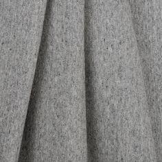 Light Gray Cotton Ribbed Knit Fabric by the Yard   Mood Fabrics