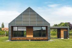This is what a low-maintenance house would look like/ Asa arata o casa conceputa pentru a avea costuri reduse de intretinere