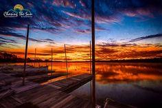 Dock Sunrise  Sunrise at a lake in Alabama