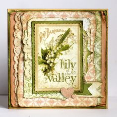 """""""Yes, its spring!"""" card by Nataliya Serova using Secret Garden! From our Ning site #graphic45"""
