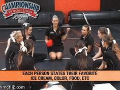 Team-building activities for cheerleaders!