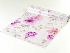 Loja Papel & Parede - Papel de parede em tons rosa, roxo e cinza - Dream 31
