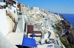 The Beautiful view in Fira, Santorini