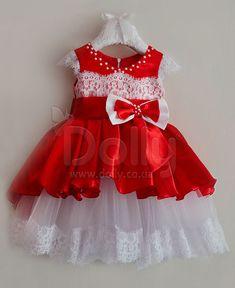 Платье Джоргет красное