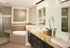Whether simple and elegant, or bold and dramatic, bathroom sinks and faucets put the finishing touch on any bath.