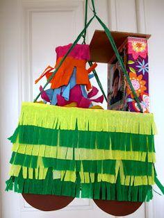 DIY Steamtrain Piñata  DIY Dampflok-Piñata