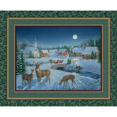 Springs Creative Seasonal Blessed Are They Panel 100% Cotton Fabric by the Yard