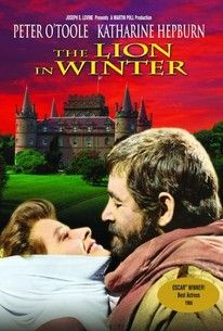 The Lion in Winter (1968). -1183 AD: King Henry II's three sons all want to inherit the throne, but he won't commit to a choice. They and his wife variously plot to force him.  -Starring: Peter O'Toole, Katharine Hepburn, Anthony Hopkins, John Castle, Nigel Terry, Timothy Dalton.