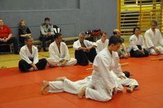 Aikido-Kyuprüfungen 23.05.2015, Linz - Ikkyo Fixierung