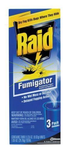Foggers 181037: Raid Fumigator Smoke Case Of 6 -> BUY IT NOW ONLY: $114.13 on eBay!